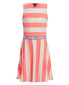 Big Girls Rugby Stripe Tank Dress