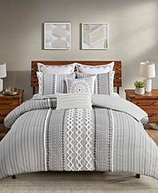 Imani 3 Piece Comforter Set, Full/Queen