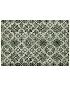 Sole Comfort Kirkwood Anti-Fatigue Green 2' x 3' Area Rug