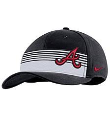 Atlanta Braves Stripe Swooshflex Classic 99 Cap