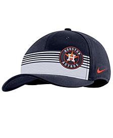 Houston Astros Stripe Swooshflex Classic 99 Cap