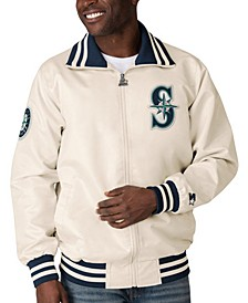 Men's Seattle Mariners Captain Coop Satin Jacket