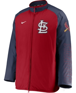 Nike Men's St. Louis Cardinals Authentic Collection Dugout Jacket