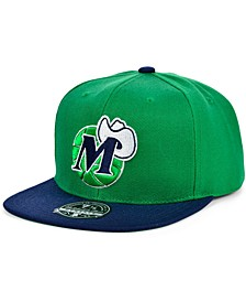 Dallas Mavericks Wool 2 Tone Fitted Cap