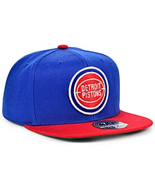 Detroit Pistons Wool 2 Tone Fitted Cap