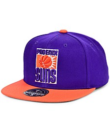 Phoenix Suns Wool 2 Tone Fitted Cap