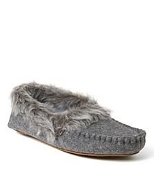 Women's Marissa Microsuede Moccasin Slippers