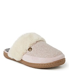 Alpine Women's Geneva Scuff Slippers
