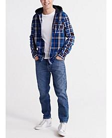 Men's Denim Goods Hooded Shirt