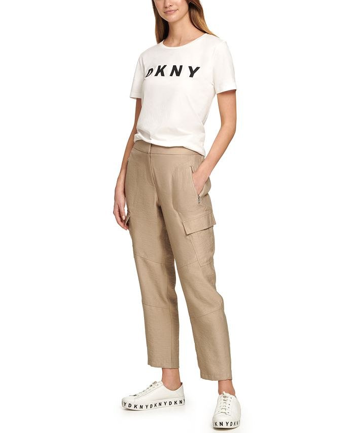 DKNY - Cropped Cargo Pants