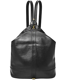 Women's Nola Leather Backpack
