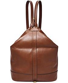 Women's Nola Leather Backpack