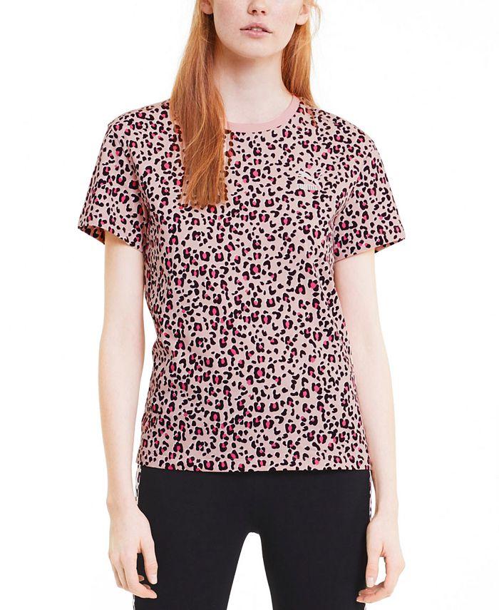 Puma - Classics Cotton Printed T-Shirt