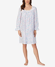 Cotton Button Front Robe