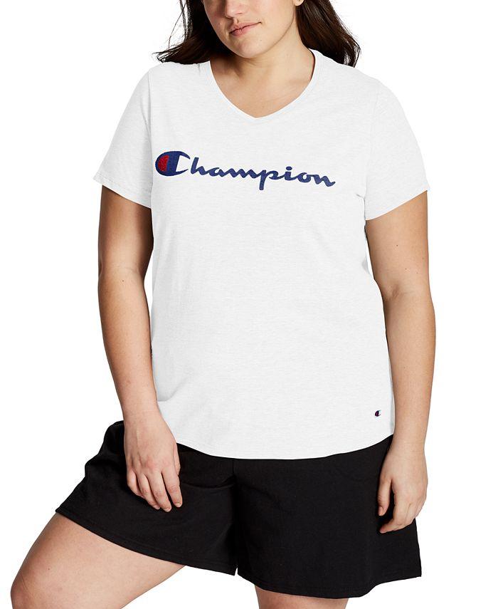 Champion - Plus Size Logo T-Shirt
