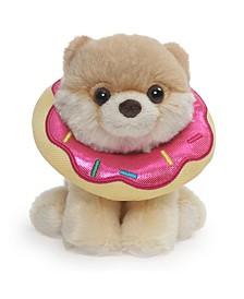 """GUND Boo Worlds Cutest Dog Itty Bitty Boo Donut Plush Stuffed Animal, 5"""""""