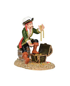 A Pirate And His Treasures Figurines