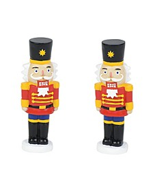 Lit Nutcracker Yard Decor Figurines