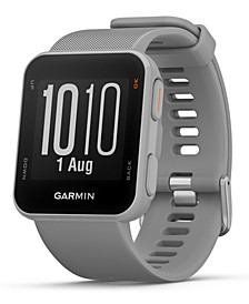 Unisex Approach S10 Powder Gray Silicone Strap Smart Watch 40mm