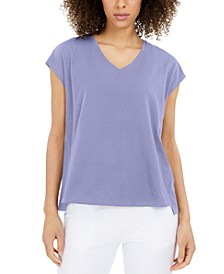 Organic Cotton Top, Available in Regular and Petite Sizes