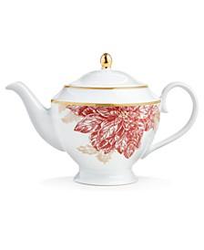 Poinsettia Teapot, Created for Macy's