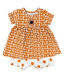 Baby Girl 2-Piece Dress Set