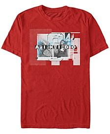 Men's La Casa De Papel Aikido Short Sleeve T-Shirt