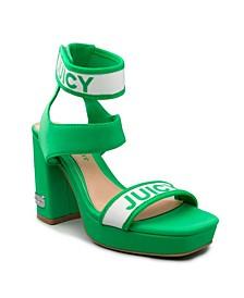 Women's Glisten Platform Heel Sandal