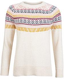 Barbour Homeswood Printed Crewneck Sweater