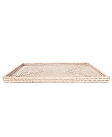 Artifacts Rattan Rectangular Flat Tray