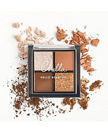 La Vie Neutral Eyeshadow Palette Travel Size