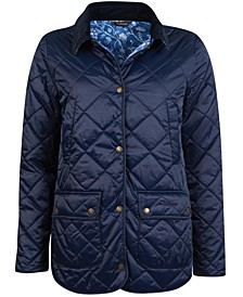 Laura Ashley Spruce Quilted Jacket