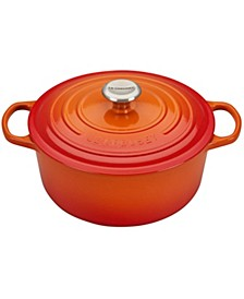 5.5-Qt. Signature Enameled Cast Iron Round Dutch Oven
