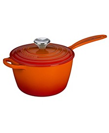 3.25-Qt. Signature Enameled Cast Iron Saucepan