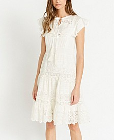 Kendal Crocheted Lace Dress