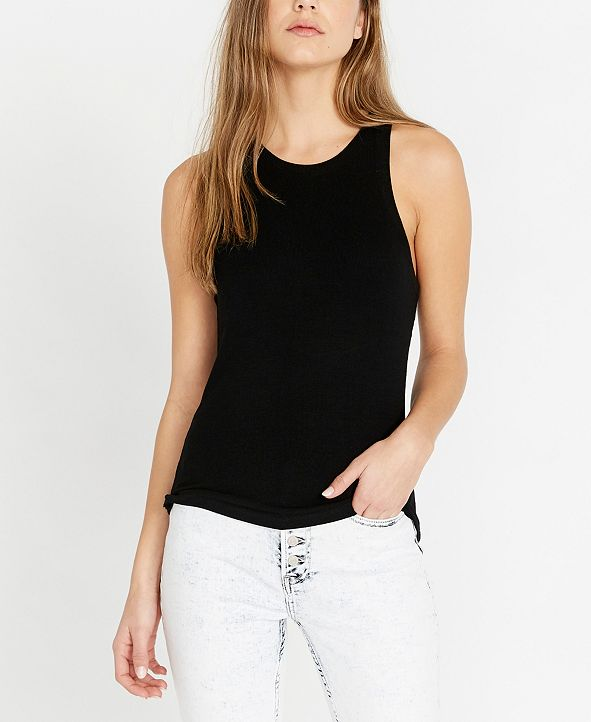 Buffalo David Bitton Sarai Rib Knit Tank Top