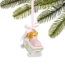 Baby's First 2020, Baby Bear in Pink Cradle Pink, Created for Macy's