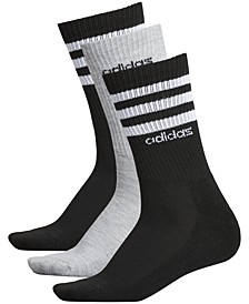 3-Pk. 3-Stripe Crew Women's Socks