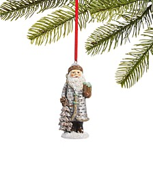 Birds & Boughs Forest Santa Ornament, Created for Macy's
