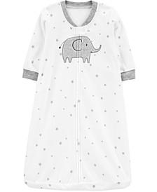 Baby Boys or Girls Elephant Fleece Sleep Bag