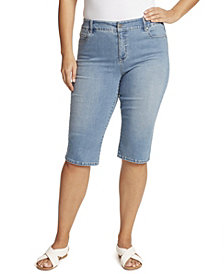 Gloria Vanderbilt Women's Plus Size Avery Pull On Skimmer