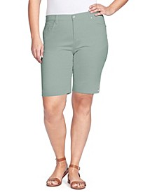 Women's Plus Size Amanda Bermuda Shorts