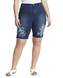 Women's Plus Size Amanda Bermuda Shorts