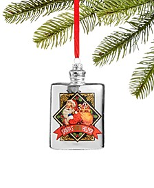 Foodie and Spirits Silver Bottle Ornament, Created for Macy's