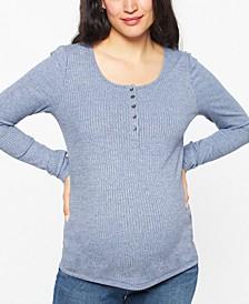 Maternity Henley Top