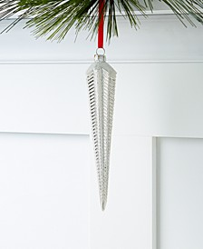 Shine Bright Glass Icicle Ornament, Created for Macy's