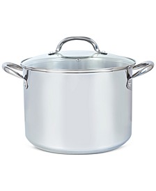 10-Qt. Stainless Steel Stock Pot with Lid, Created for Macy's