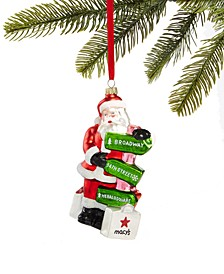 New York Santa Ornament, Created for Macy's