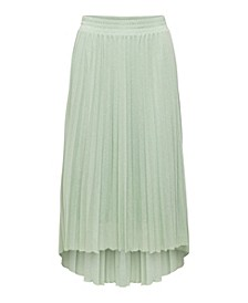 Paradise Knit Pleated Skirt