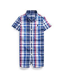 Ralph Lauren Baby Boy Cotton Madras Shortall